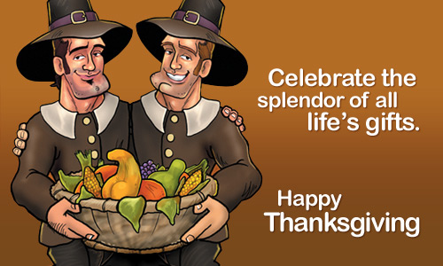 Gay thanksgiving cards